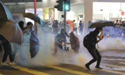 Two protesters in critical condition amid chaos in Hong Kong