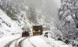 Snowfall in Jammu and Kashmir