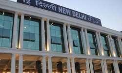 New Delhi metro station