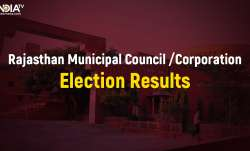 Rajasthan Civic Polls 2019 results counting of votes