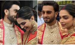 Latest News Photo of the day: Deepika Padukone, Ranveer Singh's newly-wed look from Tirupati, Deepik