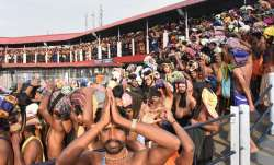 Sabarimala set to open today, no protection for women activists. 10 points