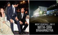 Latest News Brahmastra Movie shah Rukh Khan Shooting Ranbir Kapoor Alia Bhatt Amitabh Bachchan Mouni