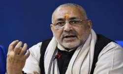 Giriraj Singh slams Rahul for using 'Savarkar' surname