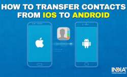 How to transfer contacts from iPhone to Android?