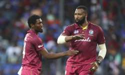 West Indies skipper Kieron Pollard