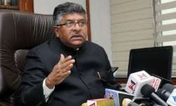 Will write to CMs, CJs to complete rape and POCSO cases within 2 months, says Ravi Shankar Prasad
