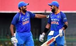 india vs west indies Rohit Sharma Virat Kohli