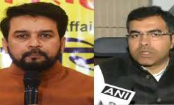 Delhi Elections 2020: EC orders removal of Anurag Thakur,