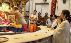 Deepika Padukone seeks blessing for Chhapaak at Mumbai's