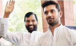 Lok Janshakti Party president Ram Vilas Paswan and Chirag