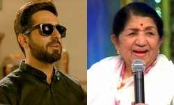 Lata Mangeshkar sings praise for Ayushmann Khurrana's Andhadhun performance