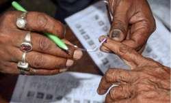 At the age of 111 years, Bangladesh-born woman Kalitara Mandal, the oldest voter of Delhi, exercised