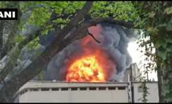 Fire breaks out in chemical factory near Mumbai