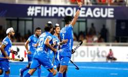 Indian goalkeeper PR Sreejesh made two consecutive saves in