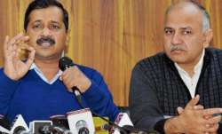 Names of Arvind Kejriwal, Manish Sisodia dropped from school event ahead of Melania Trump's visit