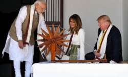 Donald Trump, First Lady skip food during Sabarmati Ashram