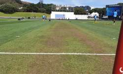 Picture of Wellington track ahead of 1st Test
