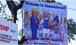 donald trump, namaste trump, amul milk, amul campaign, welcome to ahmedabread, donald trump, trump i