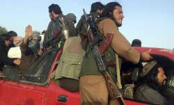 A file photo of Taliban fighters for representational