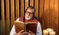Amitabh Bachchan gets emotional as he reminisces father Harivansh Rai Bachchan's poem. Watch video