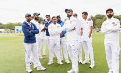 Team India after defeat in New Zealand Test series last
