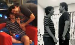 Lockdown diaries: Mahesh Babu plays 'who is taller' with son. Guess who won?