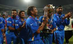 MS Dhoni-led India had defeated Sri Lank to win their