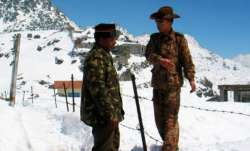 Representational image of an Indian and a PLA soldier at a