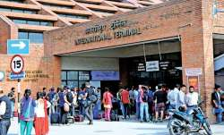 Nepal airport under renovation amid coronavirus lockdown