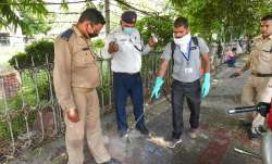Railway Police headquarter lucknow sealed