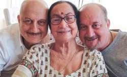 Anupam Kher's mother and brother test COVID19 positive