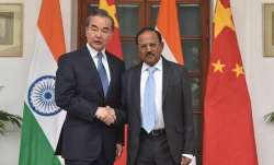 A file image of NSA Doval meeting Wang Yi.