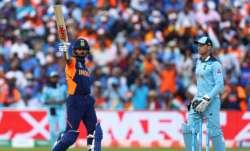 Virat Kohli and Jos Buttler during India versus England