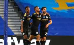 Premier League: Raheem Sterling scores hat-trick as Manchester City thrash Brighton 5-0