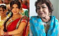 Priyanka Chopra remembers choreographer Saroj Khan