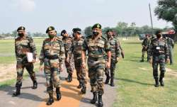 Army chief Naravane reviews operational preparedness along