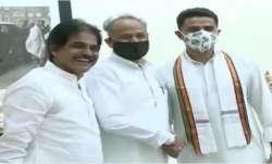 Sachin Pilot reaches Ashok Gehlot residence, Sachin Pilot, Ashok Gehlot, Rajasthan Latest News, sach