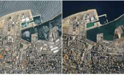 Satellite images show scale of destruction after Beirut explosions