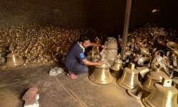 Artisans in Etah make 2,100kg bell for Ram temple