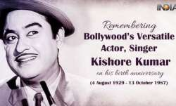 Kishore Kumar Birth Anniversary Special: Romantic songs of iconic singer that should be on your play