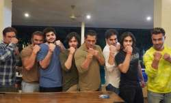 Salman Khan, brothers Arbaaz and Sohail flaunt their rakhis in Raksha Bandhan celebration picture