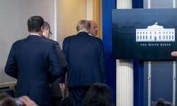 Donald trump press briefing, us shooting, donald trump white house shooting, donald trump US Secret