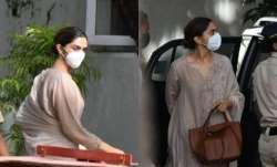 Deepika Padukone reaches NCB office