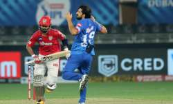 Delhi Capitals vs Kings XI Punjab Live Score IPL 2020: KXIP off to a steady start in 158 chase