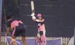 steve smith, steve smith helicopter shot, steve smith rajasthan royals, rajasthan royals training