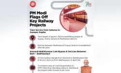 In a big boost to Railway Infrastructure in Bihar, Prime