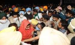 Harsimrat Kaur Badal arrested in Punjab over protest against new Farm Laws