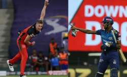 hardik pandya, chris morris, ipl 2020, indian premier league 2020, mi, rcb, mi vs rcb