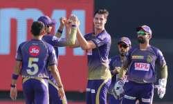 Live Score Kolkata Knight Riders vs Delhi Capitals IPL 2020: Rahane departs for golden duck in 195 c